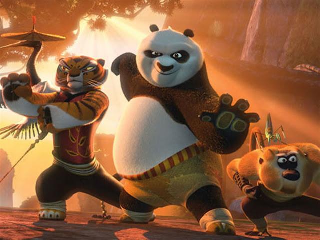 Imagen de la película Kung Fu Panda