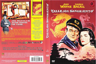 Carátula dvd: Callejón sangriento (1955) Blood Alley