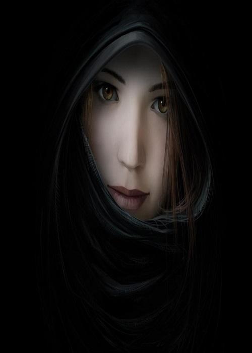 rostro, cara, mujer, joven, belleza, delicadeza