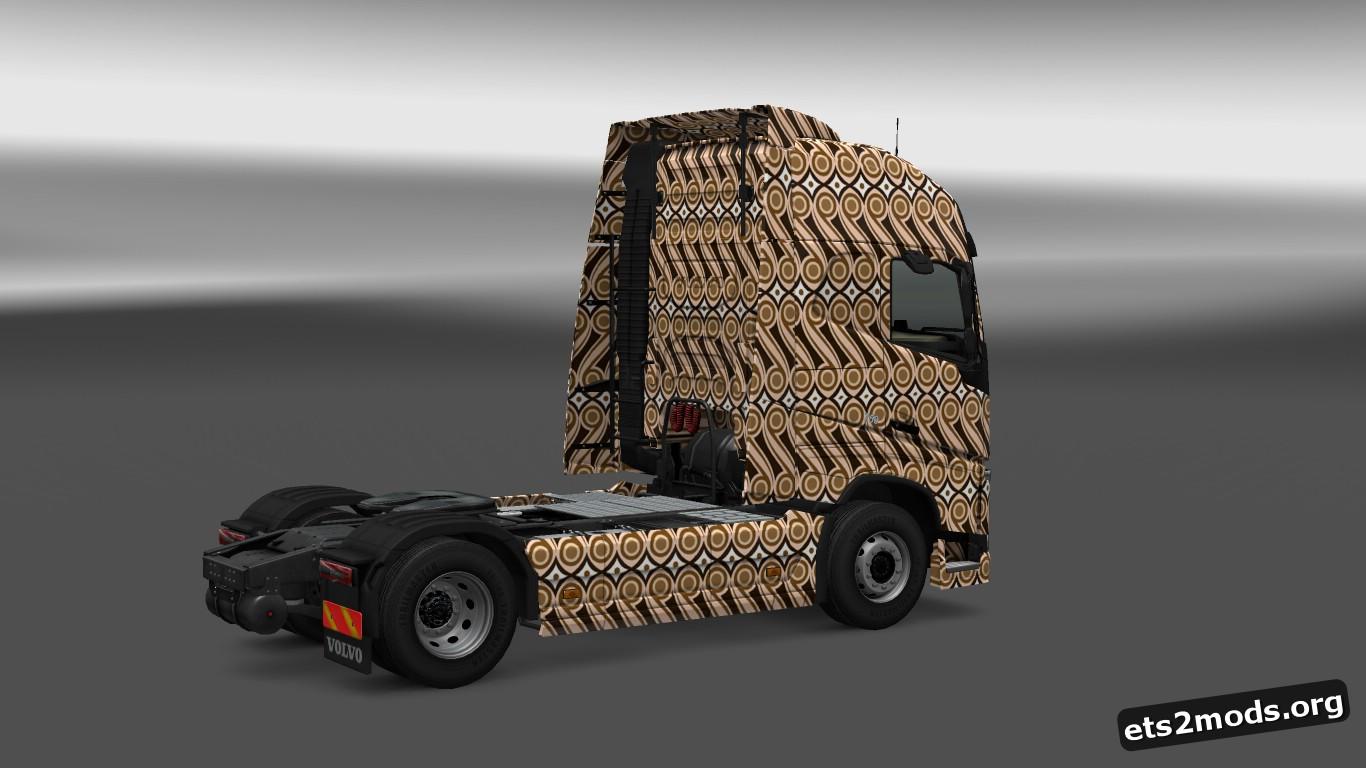 Batik Skin for Volvo 2012