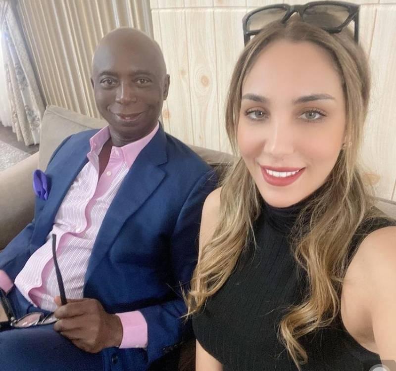 Ned Nwoko Celebrates wife, Laila on her birthday