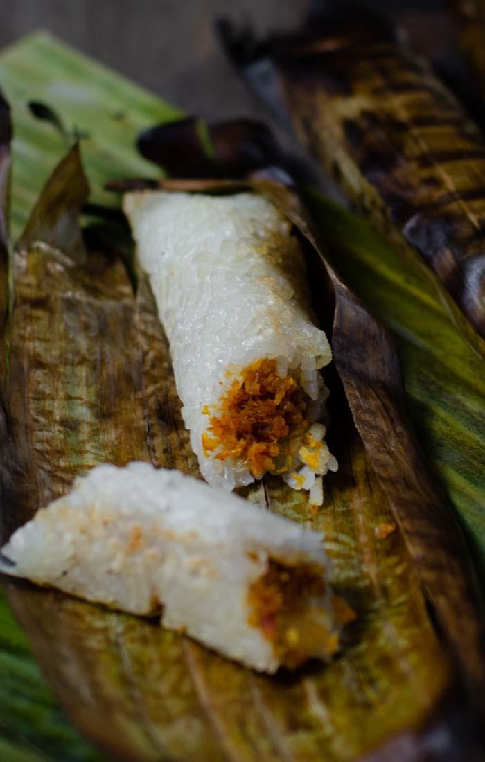 Pulut Udang/ Charred Savoury Glutinous Rice