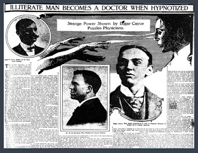 Edgar Cayce. The Sleeping Prophet. Psychic and Clairvoyant