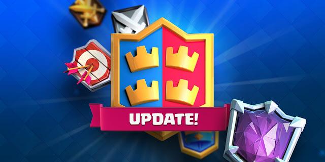 Atualização do Clash Royale