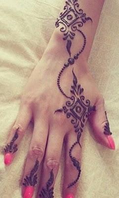 7 Best Simple Heena Designs For Hands