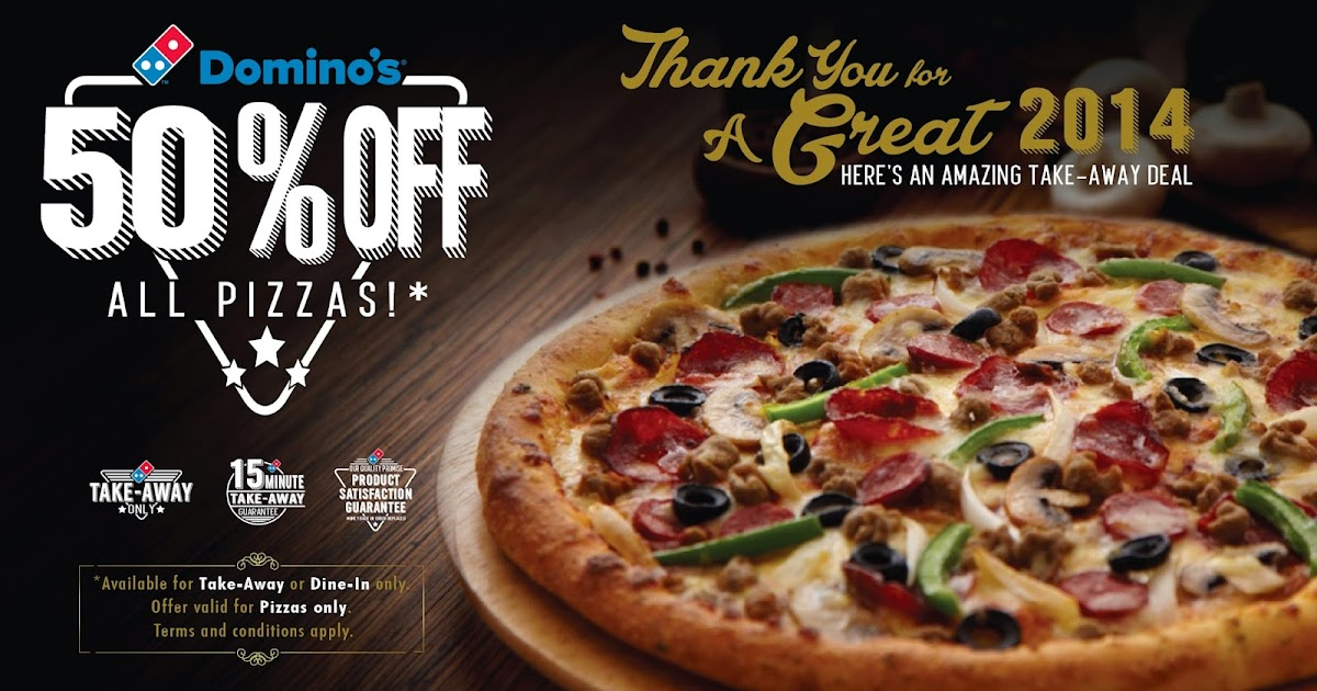 Is Dominos Open On Christmas.Hubsch Jess Baby 50 Off All Pizzas At Domino S Singapore