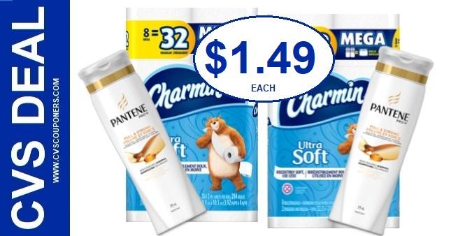 Charmin & Pantene CVS Coupon Deal 2/23-2/29