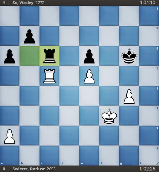 36...Tc6! a mis les Blancs en face d'un choix difficile