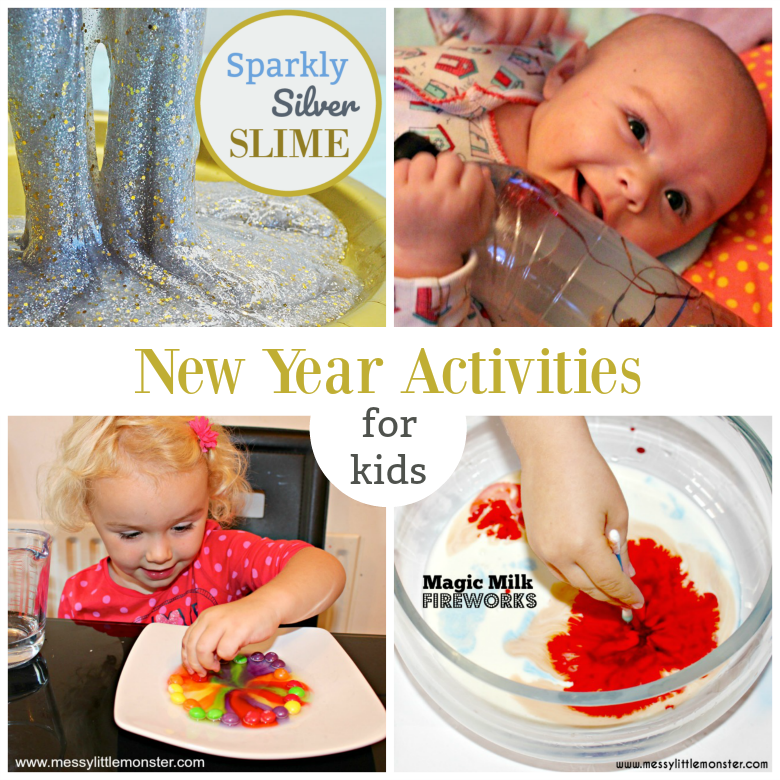 ideas for celebrating new years eve with kids