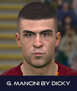 PES 2017 Faces Gianluca Mancini by Dicky