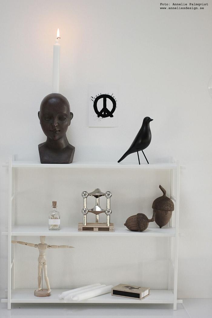 annelies design, webbutik, ansikte, ljusstake, peace, vykort, hylla, house doctor, fågel, eldstickan, modelldocka, inredning, varberg, webbutik,
