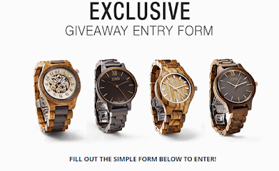 #JordWatches giveaway form #ad
