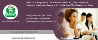 Nabteb A' level result for admission