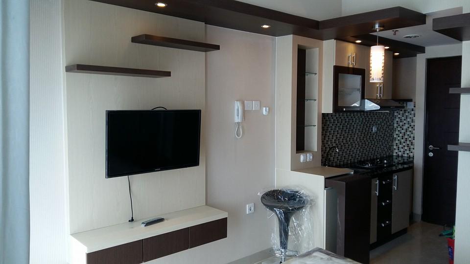 Cv tridaya interior desain interior apartement tipe for Biaya kitchen set