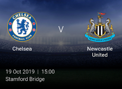 LIVE MATCH: Chelsea Vs Newcastle United Premier League 19/10/2019