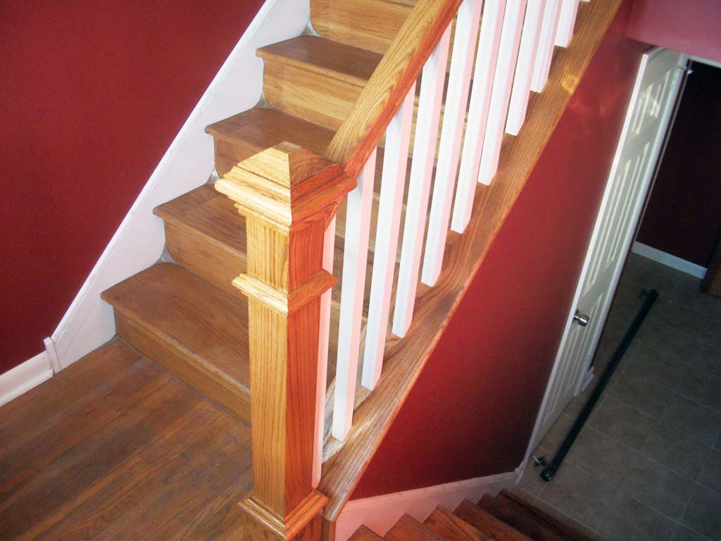 The numerous stair railing ideas for your home designs for Interior staircase railing designs