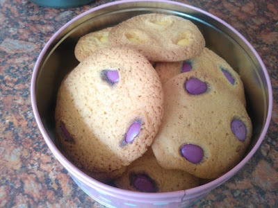 A tin of home made Cookies