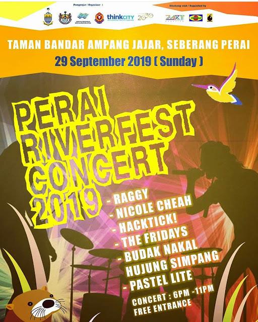 PERAI RIVERFEST CONCERT 2019