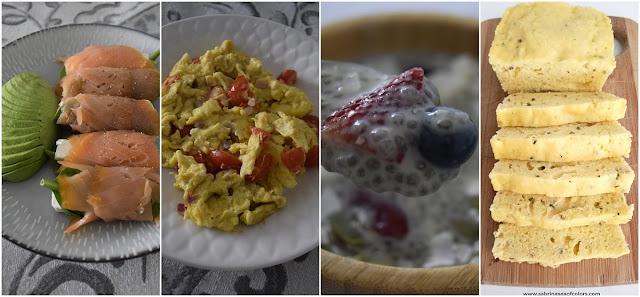 7 desayunos en dieta cetogénica