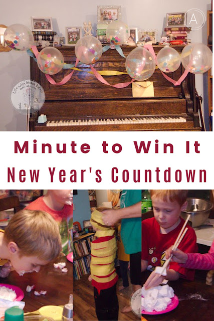 Minute to Win It New Year's Eve Countdown