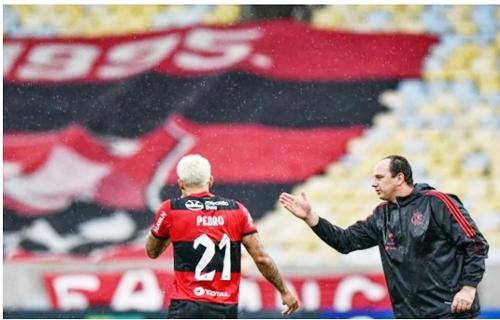 Pedro marca e Flamengo vence Palmeiras na estreia no Brasileirão