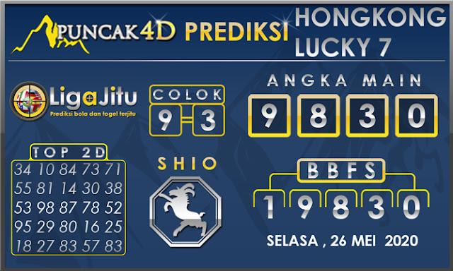 PREDIKSI TOGEL HONGKONG LUCKY 7 PUNCAK4D 26 MEI 2020