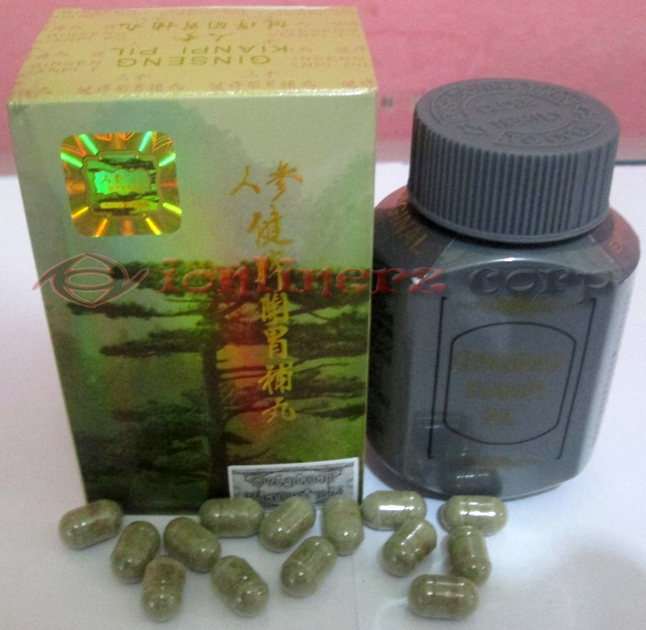 Obat Penggemuk Badan Alami - Kianpi Pil Ginseng Asli Original Murah Jakarta