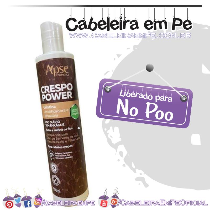 Gelatina Crespo Power - Apse (No Poo)