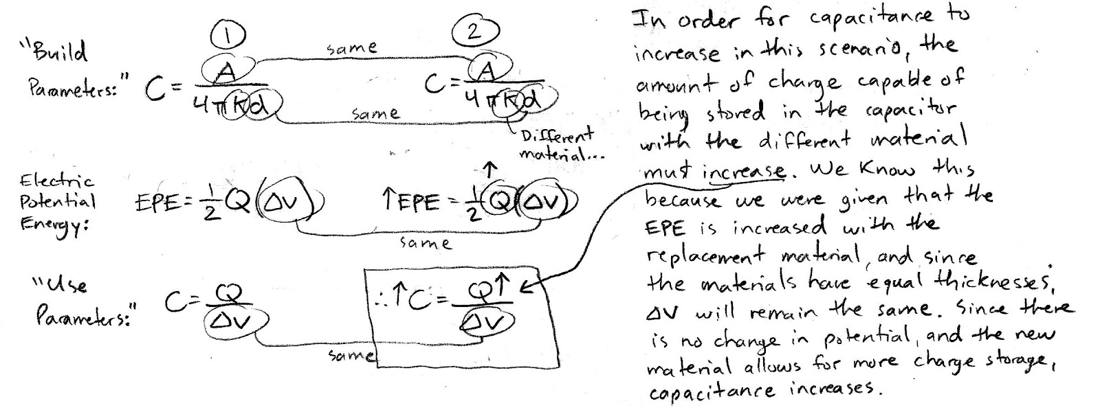capacitor essay A capacitor is a passive two-terminal electrical component that stores potential energy in an electric field the effect of a capacitor is known as capacitance while some capacitance exists between any two electrical conductors in proximity in a circuit, a capacitor is a component designed to add capacitance to a circuit.