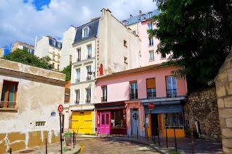 Paris : Les sources de Belleville Part. 1 - La rue des Cascades - XXème