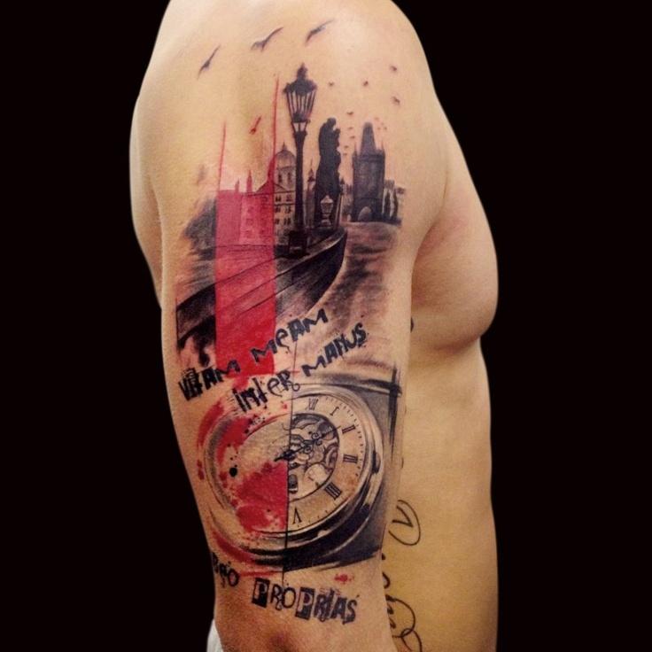Trash Polka Tattoo: ART And TATTOO: Trash Polka