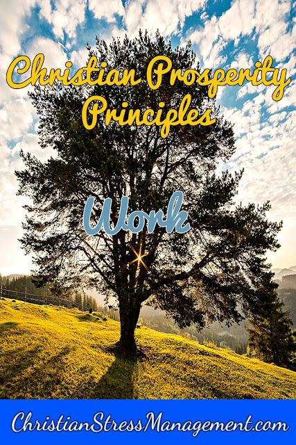 Christian Prosperity Principles: Work