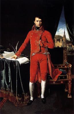 Napoleon Bonaparte. Ingres, 1804