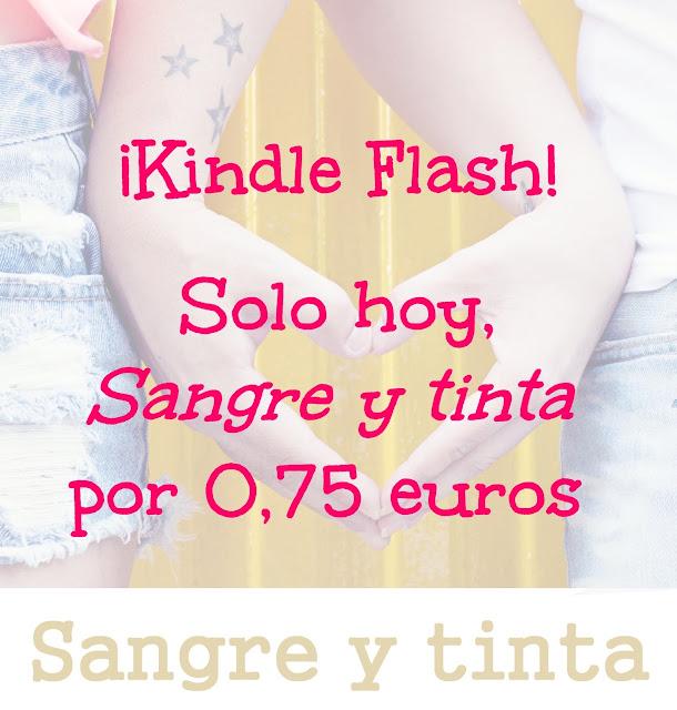 ¡Kindle Flash! Solo hoy, 'Sangre y tinta' por 0,75 euros