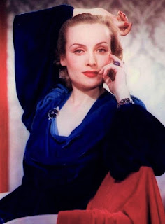Carole Lombard In Color