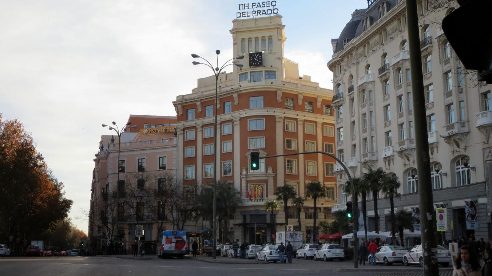 Antonio Palacios. Casa Comercial Torán y Harguindey, hoy NH Paseo del Prado