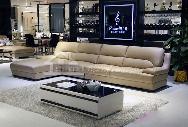 Sofa cao cấp nhẹ nhàng và sang trọng
