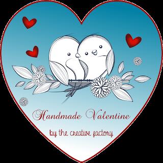 Ghirlanda cuore di bottoni e goccia di cristallo - banner TCF - My Little Inspirations