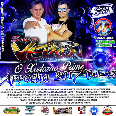 CD ARROCHA DO SUPER VETRON VOL.05 MAIO