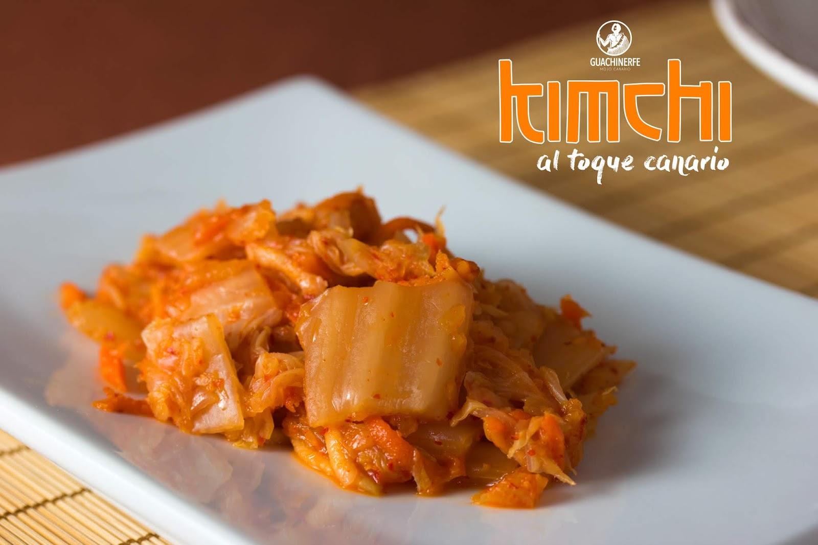 Receta Kimchi Coreano Al Toque Canario