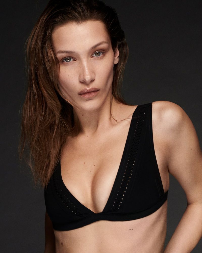 Calvin Klein turns up the heat with new swimwear campaign starring Bella Hadid and Abby Champion