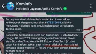 Kabar Terbaru Normalisasi VTube