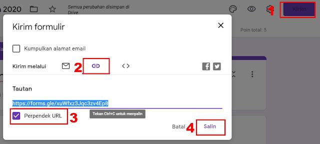 google formuliir untuk ujian online