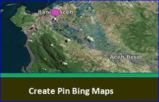 Pin pada Bing Maps