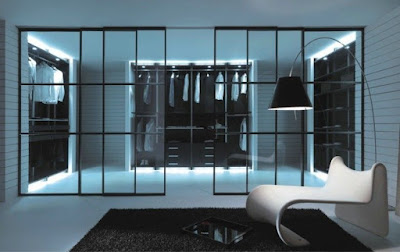 decorative LED lighting strips for  modern dressing room