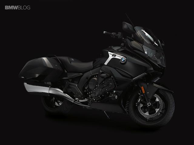 BMWK1600B: Sự sang trọng, quyền lực trên hai bánh xe