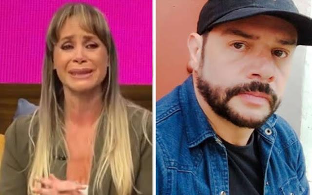 Ginny Hoffman niega venganza contra el Héctor Parra entre lágrimas y redes la critican