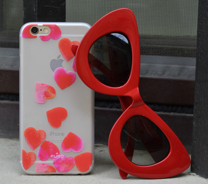 cover iphone cuori