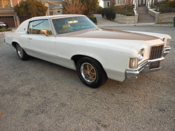 1972 Pontiac Grand Prix SJ 455 - Buy American Muscle Car