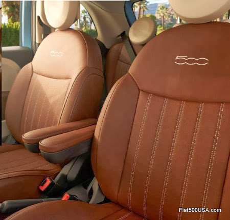 Fiat 500 1957 Edition Seats